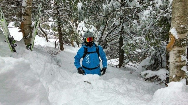 Tons of powder stashes in the woods still. Timbuktu out of bounds is amazing. Face chutes and tuckermans nice also.