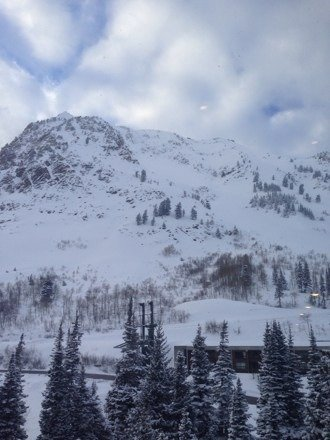 Great skiing yesterday!  Fresh powder everywhere!  Fabulous! Visibility was poor at times but I'm optimistic for today.