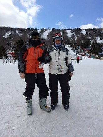 Great day and skiing conditions!