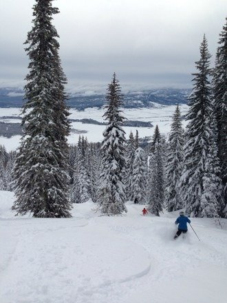 Best snow of the season! Thanks for a amazing season Tamarack :)