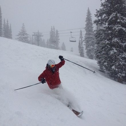Epic, under reported, by 1:00 PM there was knee deep or better powder off groomers which had about 8