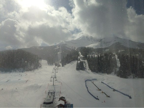 Awesome powder turns all day long!