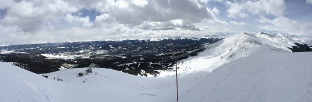After hike up Serenity Bowl...awesome snow yesterday