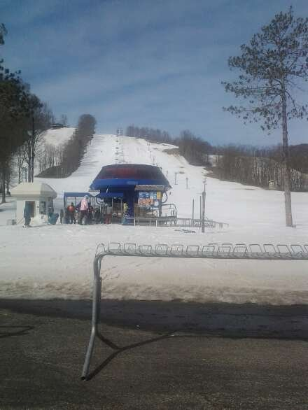 last day skiing