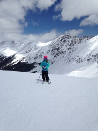great day on the mountain yesterday with Granddaughter!