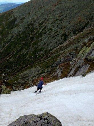 Still skiing up on mt washington this weekend. 6/8/14