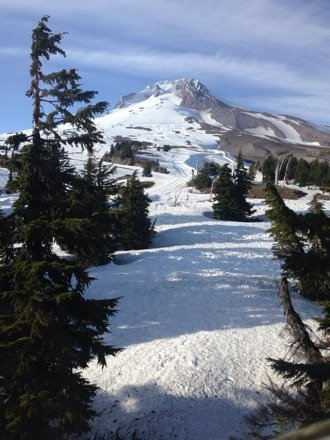 Up there June 8-10. Good times. Private lessons relatively cheap. Snow decent. Worth going.