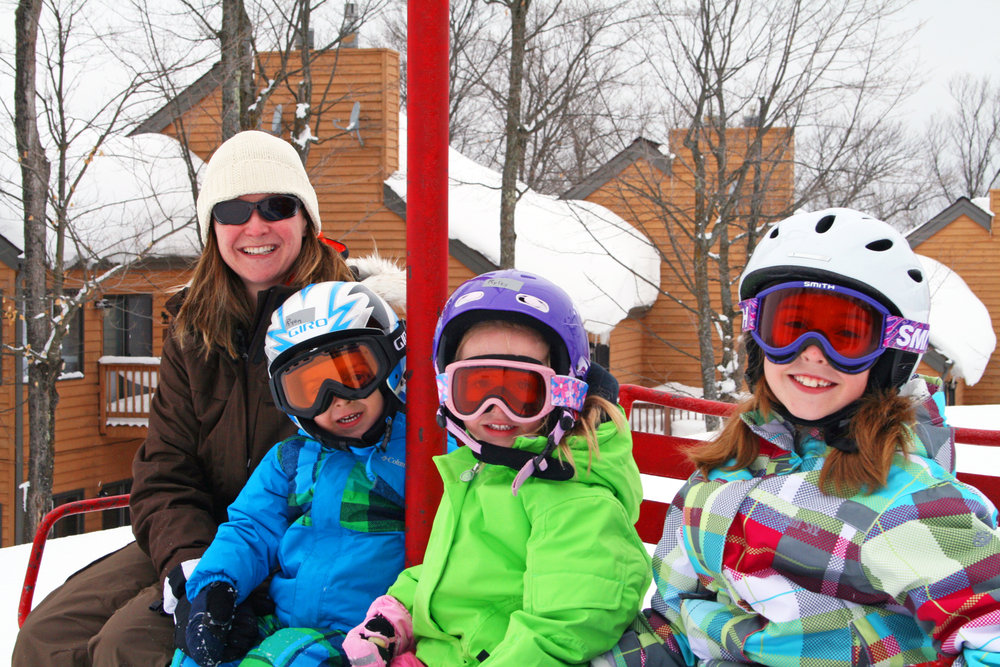 Indianhead Mountain Resort, the 2014 OnTheSnow Visitors' Choice Award winner for Best Overall Midwest Resort. - ©Indianhead Mountain Resort