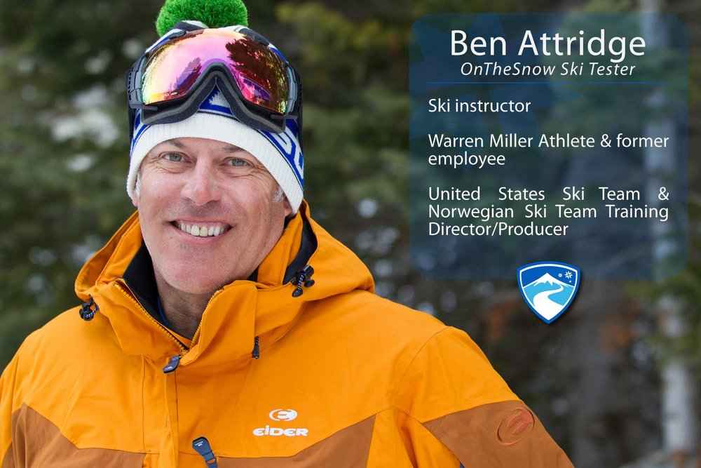 """Ben Attridge, 40-something. If you could ski with anyone (past, present or future) who would it be? """"Alberto Tomba or Joey Stoeger."""" - ©Cody Downard Photography"""
