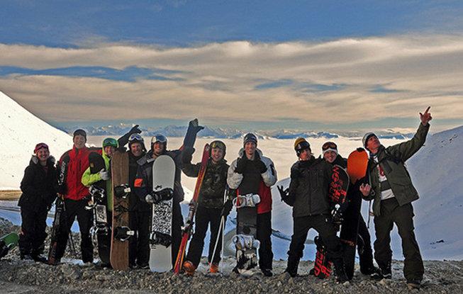 Haka Tours group on South Island, New Zealand