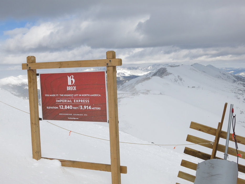 The Imperial Express in Breckenridge is the highest ski lift in all of North-America - ©Micaela Romani