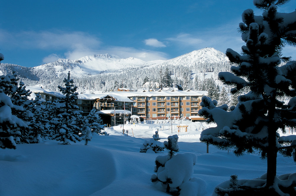 Lodging options at Mammoth.