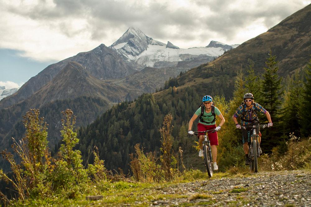 Mountainbiking in Zell-am-See-Kaprun in summer