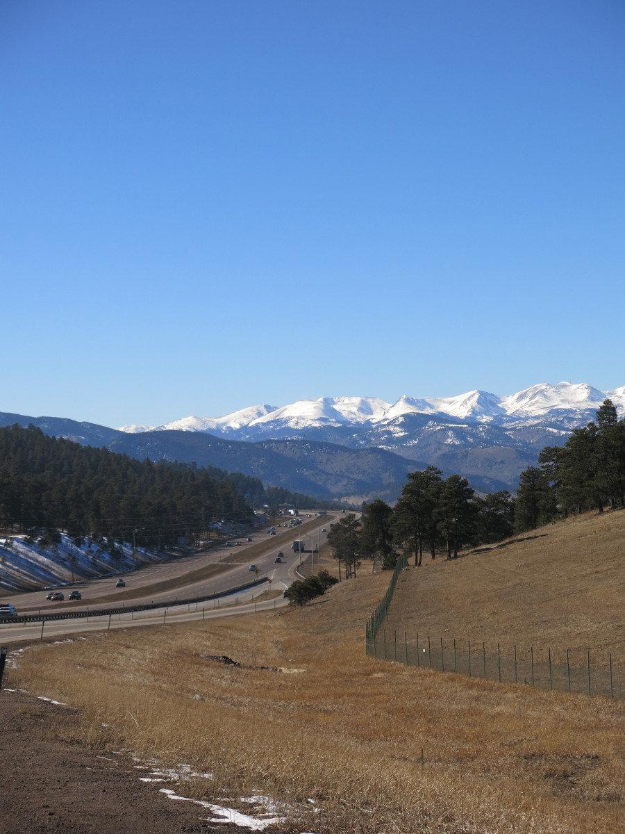 On the road near Denver, Colorado - ©Micaela Romani