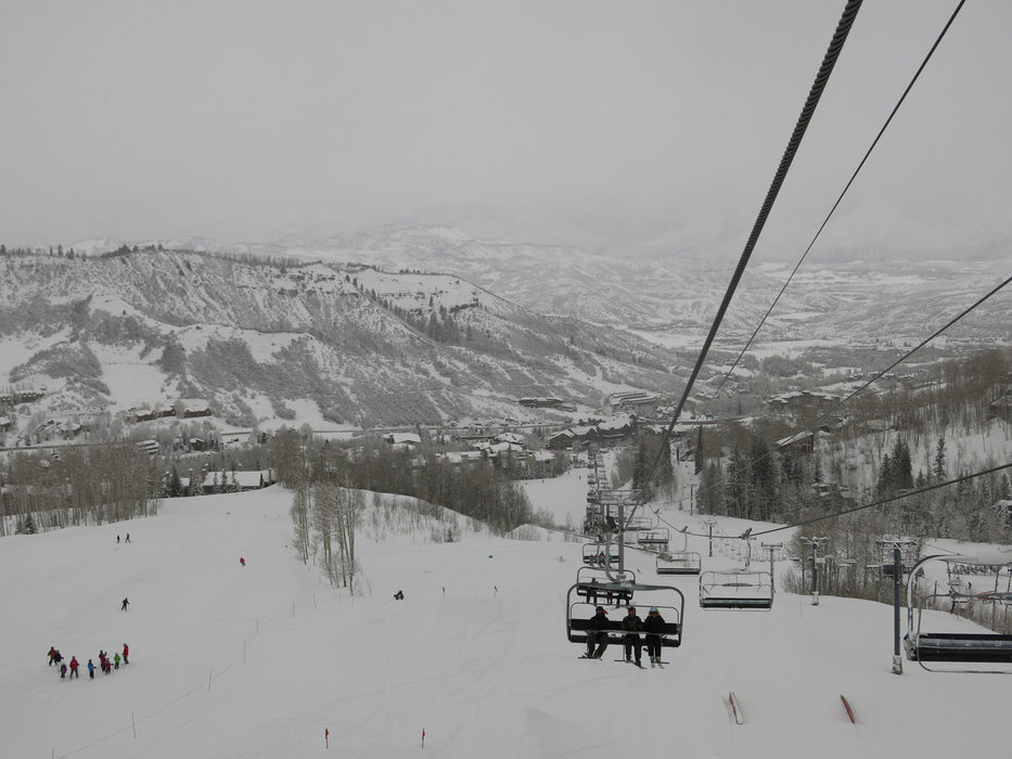 The slopes of Snowmass