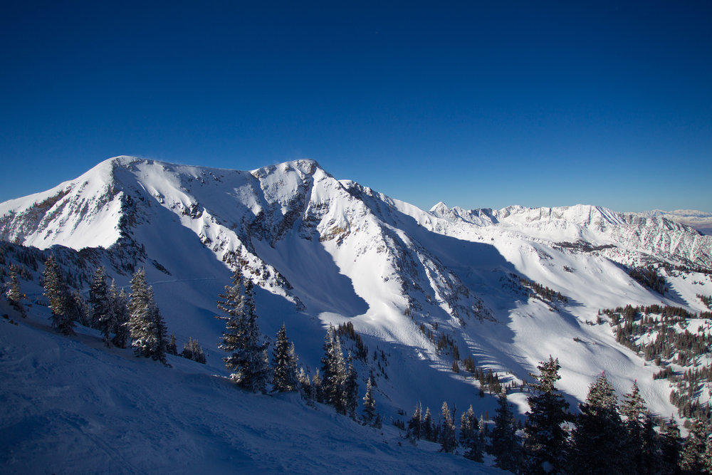 The Snowbird scene. - ©Cody Downard Photography
