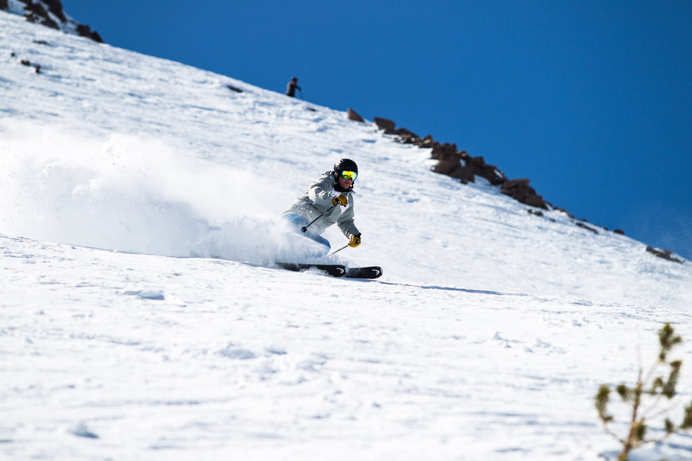 Mammoth bound? Don't forget your powder skis and sunscreen!  - ©Cody Downard Photography