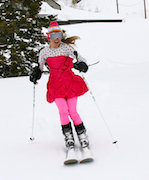 Technical ski gear changes form during springtime at Alta. - ©Courtesy of Alta Chamber & Visitor's Bureau