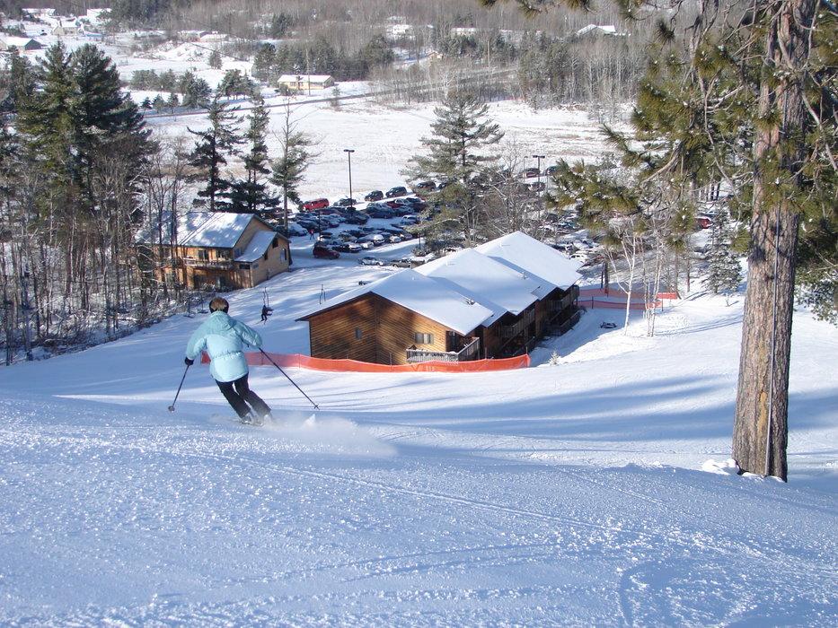 Ski slopes of Pine Mountain, MI