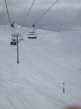 Espectacular!!!....mucha nieve...el fuera de pista esta increíble...