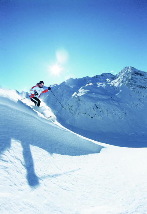 Skiing at Obergurgl, AUT.
