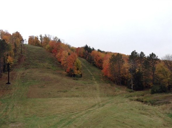 Beautiful colors at Ski Brule
