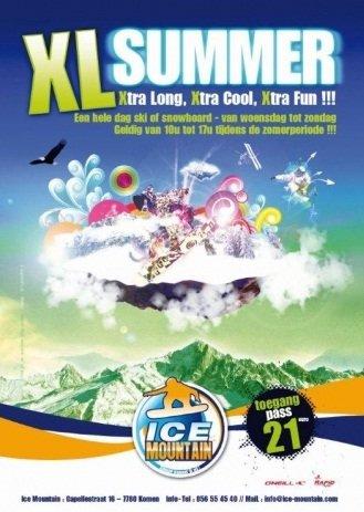Ice Mountain - ©XL Summer Ice Mountain | Snowfun @ Skiinfo Lounge