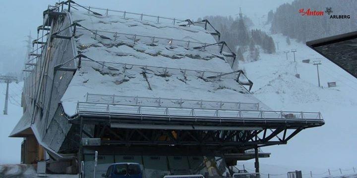 Neve fresca a St. Anton, 22 Ottobre 2014 - ©St. Anton am Arlberg