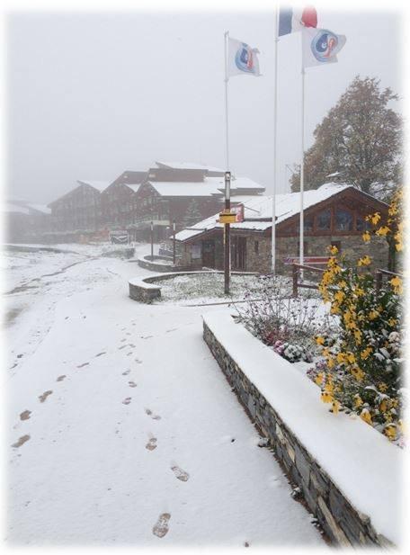 Neve fresca a Les Arcs 1800 23 Ottobre 2014 - ©Les Arcs