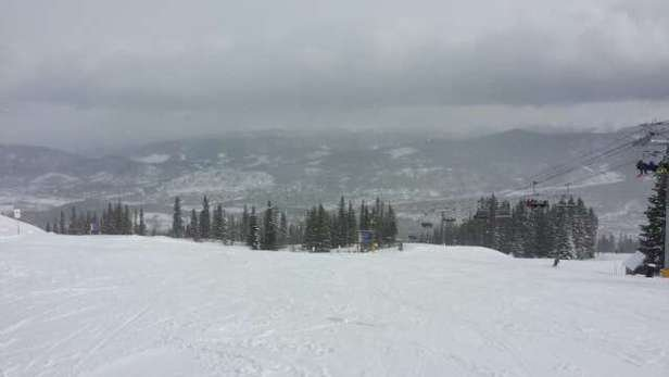 Awesome for early season. Mostly packed pow couple inches new snow from today, still snowing.