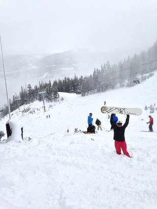 A OK for first day of the season. Crowds will be better once they open more than 3 lifts.