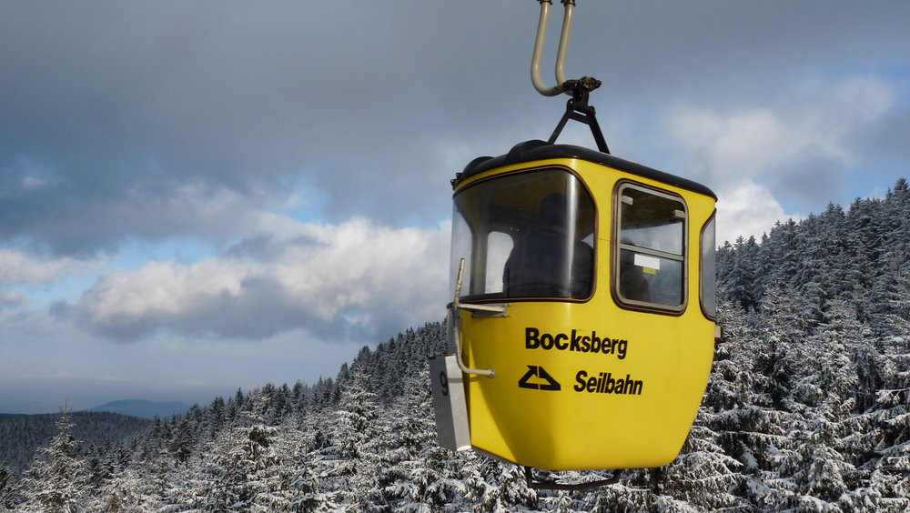Getting to your aim fast: with the cable cars - ©Erlebnis BocksBerg