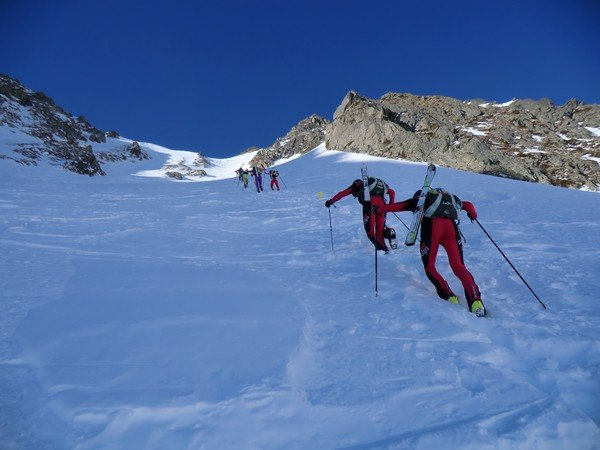 Course de ski de montagne Sybelles-Villarinche