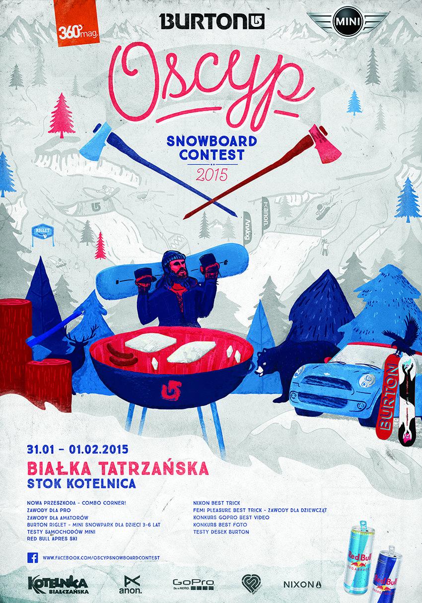 OSCYP Snowboard Contest 2015 - ©ON Kotelnica Białczańska