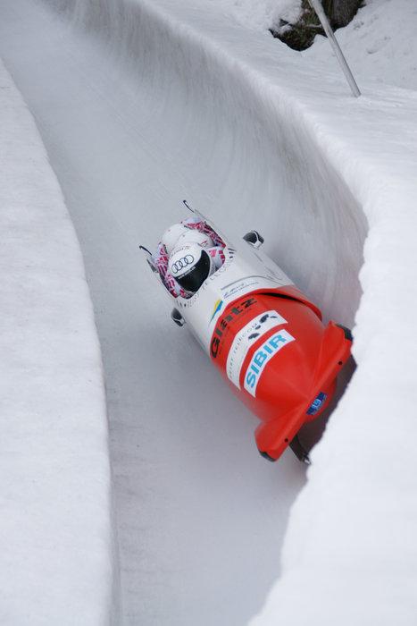 Olympia Bob Run in St. Moritz/Celerina - ©World and European Cup Bob and Skeleton on the Olympia Bob Run