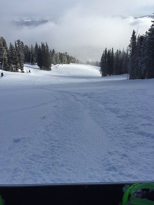Nice conditions at Breck!
