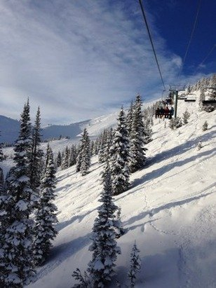 Great day, great conditions at Kicking Horse
