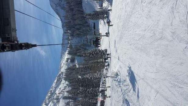 great conditions. mineral basin is open with tons of fresh power