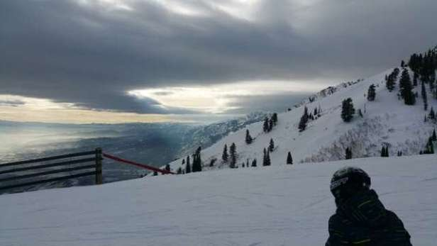 Runs are being well groomed but new snow is desperately needed.