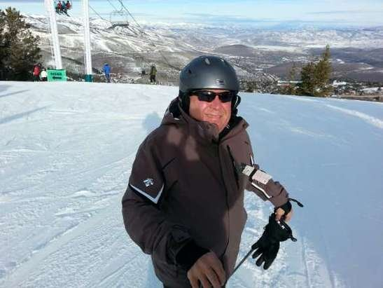 skied most of day on Saturday.  Conditions were better than expected.  Coverage was good on most runs.