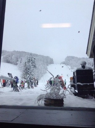 So much powder! 100% open. Glades are awesome!