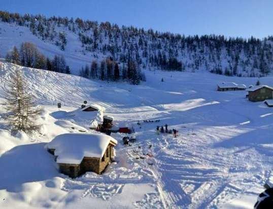 neve e tempo fantastico