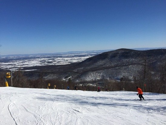 Some nice runs to be had yesterday