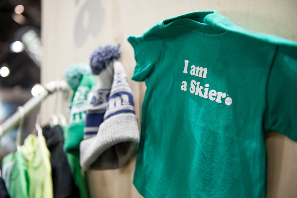 Line gear for those who start skiing soon after their first steps. - ©Ashleigh Miller Photography