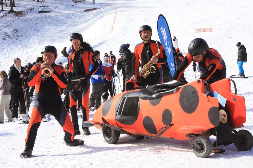 Val d'Allos - 15-20 février 2015 : Boule de Neige et Ribouldingue / Festival gratuit pour petits et grands - ©Office de Tourisme du Val d'Allos