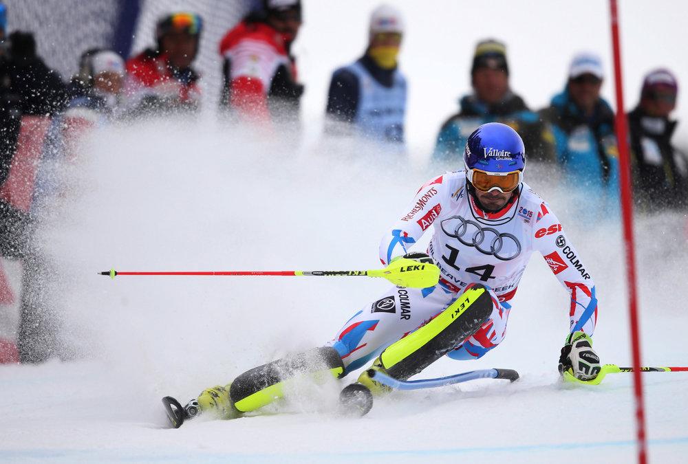 Überraschungssieger im WM-Slalom: Jean Baptiste-Grange (FRA) - ©Audi Media-Service