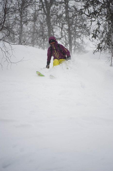 En god del snø hadde falt natten før. - ©Eirik Aspaas