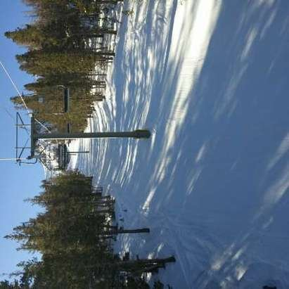 prime groomers and a few untracked trees. Bradley a soul here. #epicskiday