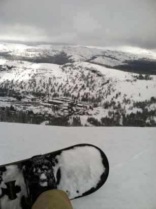 Epic day in kirkwood this Sunday, more powder than I've seen all year. Some icy areas but overall great conditions!