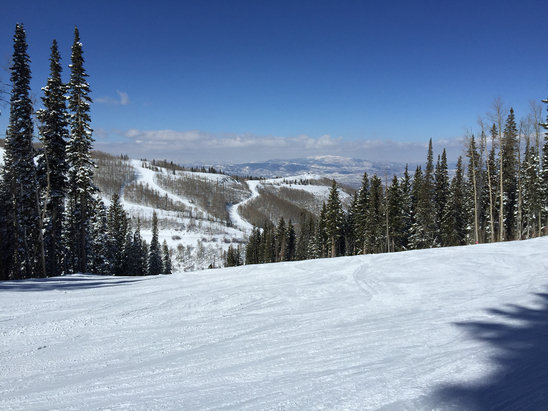Park City Mountain Resort - Empty runs all day!!!